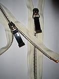 Молния металлическая 77см, тип 10, 2 бегунка, фото 5