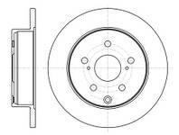 Тормозной диск задний Roadhouse RH 61188.00 для Toyota Camry (Mcv3, Acv3, Xv3) 01.2006-11.2006