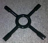Решетка газа | A8040 черный крестик