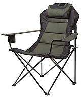 Складное кресло для рыбалки (туристическое кресло складное, крісло розкладне туристичне), фото 1
