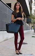 Джинсы стрейчевые женские, бордо, черные, белые
