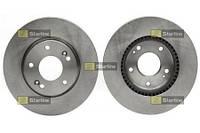 Тормозной диск передний Starline S PB 20659 для Kia Cee'D Sw (Ed) 09.2007-12.2012