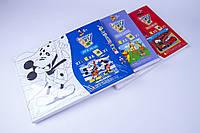 "Набор детского творчества ""Холст"" 220×300 mm,№2230, с красками и кистью, товары для творчества"