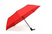 Женский зонт. Сетло- красный