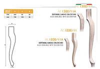 Ножка меблева фігурна букова DV Art. 1200/11 А
