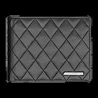 Мужской кожаный кошелек Mercedes-Benz Men's wallet, AMG, Black