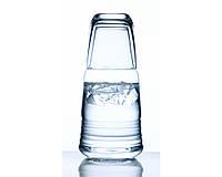 Графин для воды со стаканом Luigi Bormioli Michelangelo Water Set 0.6 л.