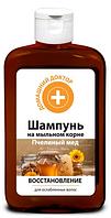 Шампунь Пчелиный мед Восстанавливающий  Домашний доктор , 300 мл