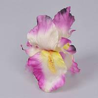 Головки Ириса 13см розовая Цветы искусственные