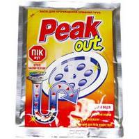 """Засіб д/чистки труб """"Peak Out"""" гаряча вода 80г/-493/12/72"""