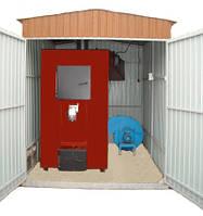 Модульная котельня на базе пиролизного котла ТМ «Энергия – М»