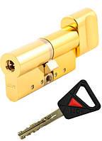Цилиндр замка Abloy Novel CY 323U 124мм (62,5x61,5T) латунь KILA ключ-тумблер