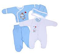 Комплект для новорожденных (4 предмета)