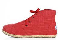 Кеды мужские Toms Classic High red