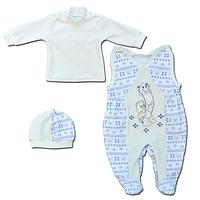 Комплект одежды велюровый для новорожденных