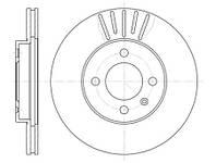 Тормозной диск передний Roadhouse RH 6175.10 для Volkswagen Passat Variant (3A5, 35I) 02.1990-05.1997