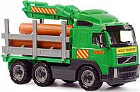 Автомобиль-лесовоз Volvo в сеточке Полесье (8756)