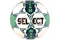 Мяч футбольный. М'яч футбольний. №5 SELECT FORZA (белый-синий-зеленый)