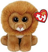 Мягкая игрушка Лев Louie Beanie Babies, 15 см Ty (42107)