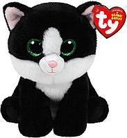 Мягкая игрушка Котенок Ava Beanie Babies, 15 см Ty (42185)