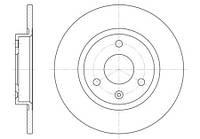 Тормозной диск передний Roadhouse RH 6129.00 для Citroen C15 (Vd-) 05.1987-12.1996