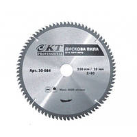 Диск отрезной по металлу KT Professional 07638008 250, 80Т, 32м пластик-алюминий (07638008)