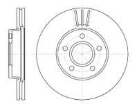 Тормозной диск передний Roadhouse RH 6710.10 для Ford Focus Iii 07.2010+