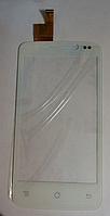 Тачскрин / сенсор (сенсорное стекло) для Fly IQ447 Era Life 1 (белый цвет)
