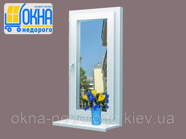 Цена окна Veka Euroline ― одностворчатое с установкой