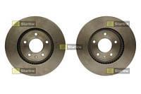 Тормозной диск передний Starline S PB 20717 для Opel Antara 12.2010+