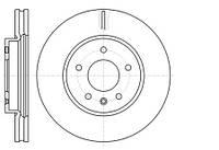 Тормозной диск передний Roadhouse RH 61183.10 для Opel Antara 12.2010+