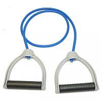 Эспандер для фитнеса (l-120 см, синий)