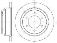 Тормозной диск задний Roadhouse RH 6515.10 для Isuzu Trooper 04.2000+
