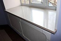 Заглушка для подоконника из искусственного акрилового камня Monerte 600 мм