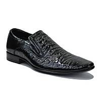 Туфли мужские классические лакерованные ТМ Мида