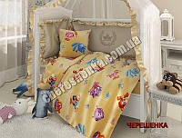 """Ткань для постельного белья Бязь """"Gold"""" детская GLB074 (50м)"""
