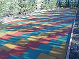 Травмобезпечні гумові покриття для дитячих майданчиків, фото 3
