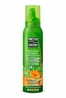Чистая Линия Пенка для укладки тонких и поврежденных волос 150 мл