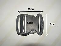 Фастекс (карабин) пластик 50 мм