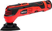 Многофункциональный инструмент ( РЕНОВАТОР ), 2 аккумулятора 10,8В, в кейсе,YATO YT-82900.