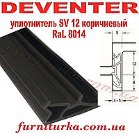 Уплотнитель оконный Deventer SV 12 коричневый