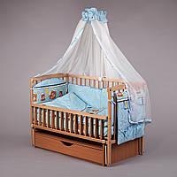 Детская постель  Стандарт (8 елементов) №027