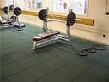 Резиновая плитка для спорта, фото 5