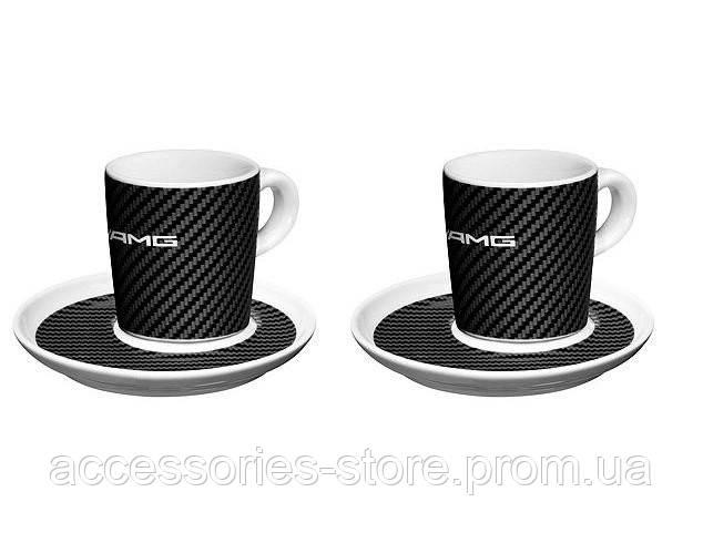 Набор из двух чашек для эспрессо Mercedes-Benz AMG Espresso Cups Set 2017