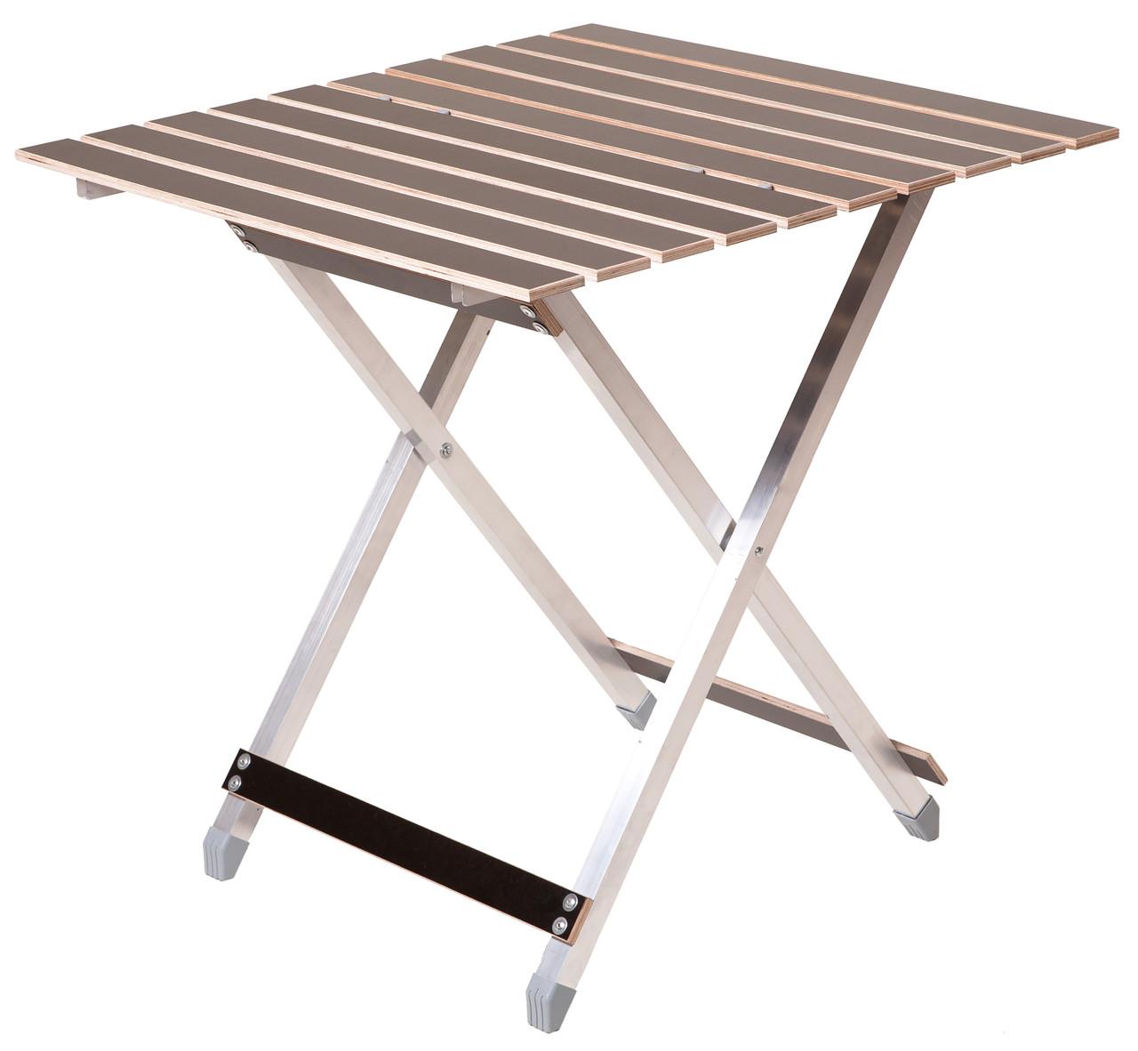 Туристичний складаний стіл 65,5 см алюмінієвий (алюмінієвий складний туристичний стіл)