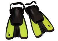 Ласты тренировочные с открытой пяткой (пяточный ремень) SEALS F16 (р-р S-34-38, цвета в ассортименте)
