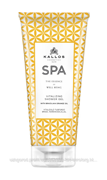 Гель для душа Kallos SPA Vitalizing shower gel  0.200 мл