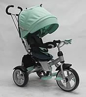 Детский велосипед-коляска CROSSER T-503 EVA WHEEL бирюзовый***