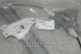 Рамка стеклоподъемника задняя электрическая левая Lanos / Ланос, 96245711