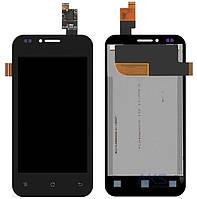 Дисплей (LCD) Fly IQ442 Quad Miracle 2 с сенсором черный